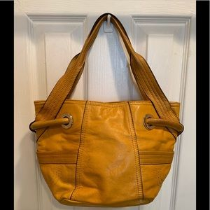 B. Makowsky leather hobo handbag